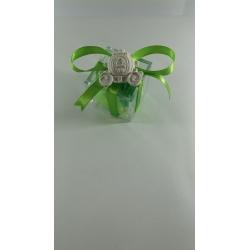 Carrozza principessa tema fiaba gesso ceramico profumato