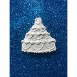 Wedding cake - torta nuziale in gesso ceramico per fai da te