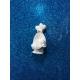 Bimbo - neonato nella culla 3d gesso ceramico profumato per fai da te