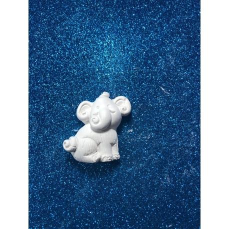 Elefante - elefantino gesso ceramico profumato per fai da te