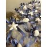 Segnaposto saponetta con conchiglie e stella marina in gesso ceramico profumato