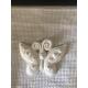 Farfalla sorridente in gesso ceramico profumato