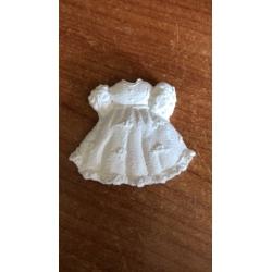 Vestitino bimba gesso ceramico profumato