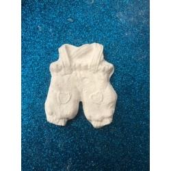 Tutina bimbo in gesso ceramico profumato