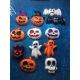 Zucca, fantasma, pipistrello, teschio per halloween gesso ceramico profumato