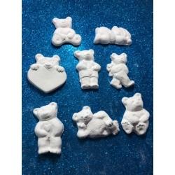 Orsetto - orsetti del cuore in gesso ceramico profumato