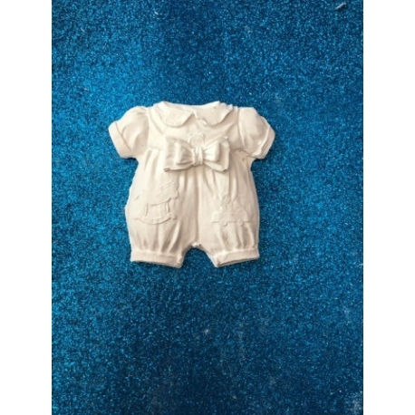 Tutina bimbo - neonato in gesso ceramico