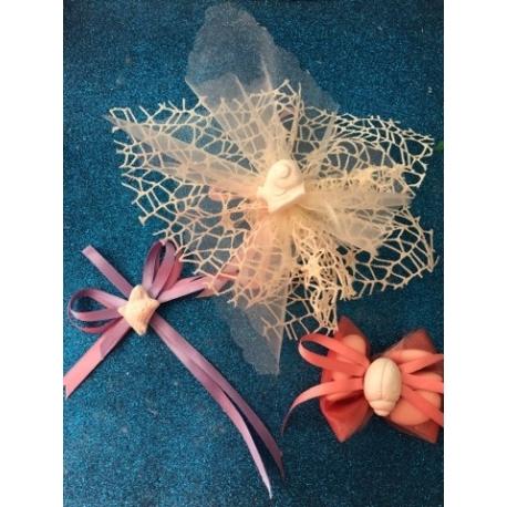 Farfalla, coccinella, lumaca gesso ceramico profumato