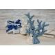 Corallo porcellana con led WHITE/BLU cm. 15,5x16,5