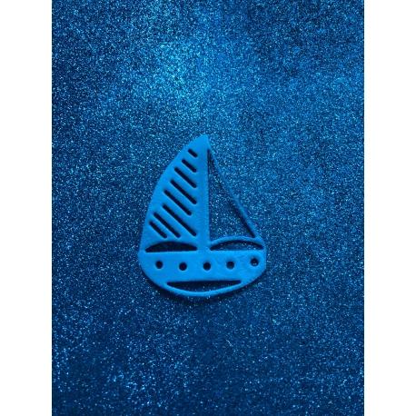 Barca a vela in gomma crepla