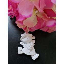 Ape bimba in gesso ceramico profumato