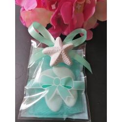Bustina tiffany porta confetti con gessetto profumato