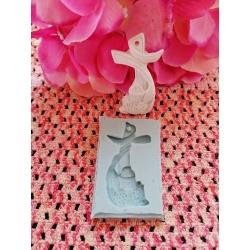 Stampo icona quadretto sacra famiglia in gomma siliconica professionale da colata