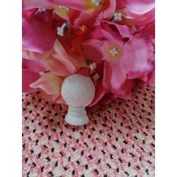 Croce moderna prima comunione in gesso ceramico profumato
