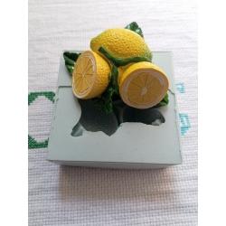 Stampo limoni limone in gomma siliconica professionale da colata