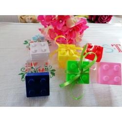 Box porta confetti lego
