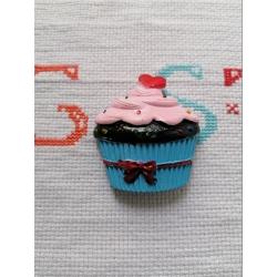 Stampo cupcake con cuore in gomma siliconica professionale