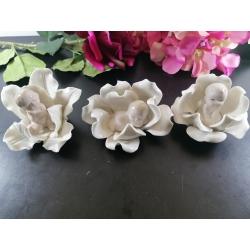 Bomboniere fiore con neonato Lotto 3 PZ