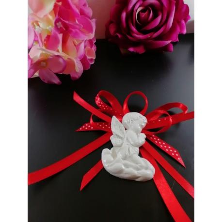 Segnaposto angelo in gesso ceramico profumato