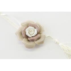 Appendino fiore porcellana : linea Flower power
