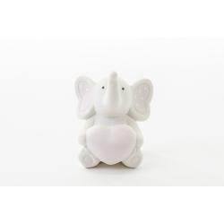 Elefantino porcellana celeste