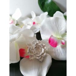 Rosa in gesso ceramico profumato