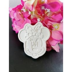 Minnie e Paperina in gesso ceramico profumato
