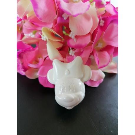 Topolino con viso tondo in gesso ceramico profumato