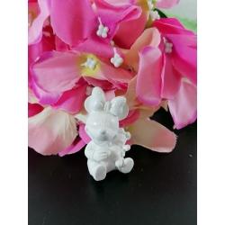 Minnie con orsetto 3d in polvere di ceramica