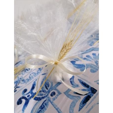 Spiga di grano naturale completo di confetti