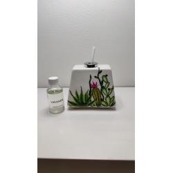 Profumatore porcellana cactus