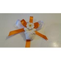 Segnaposto pianta fiore con coccinella porta fortuna